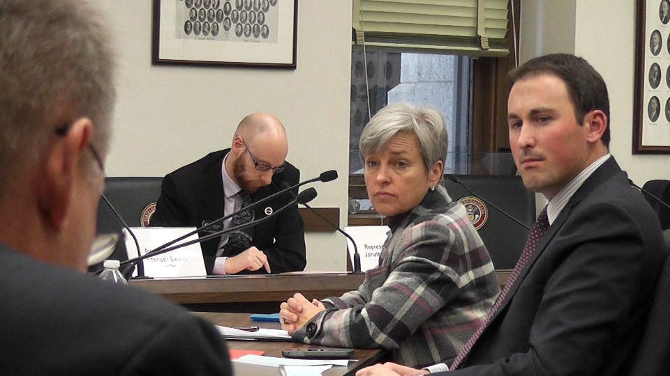 Former Connect for Health CEO and Executive Director Patty Fontneau, left, told lawmakers last year that the exchange didn't need another audit. Bonuses she received have since received sharp criticism from Colorado lawmakers.