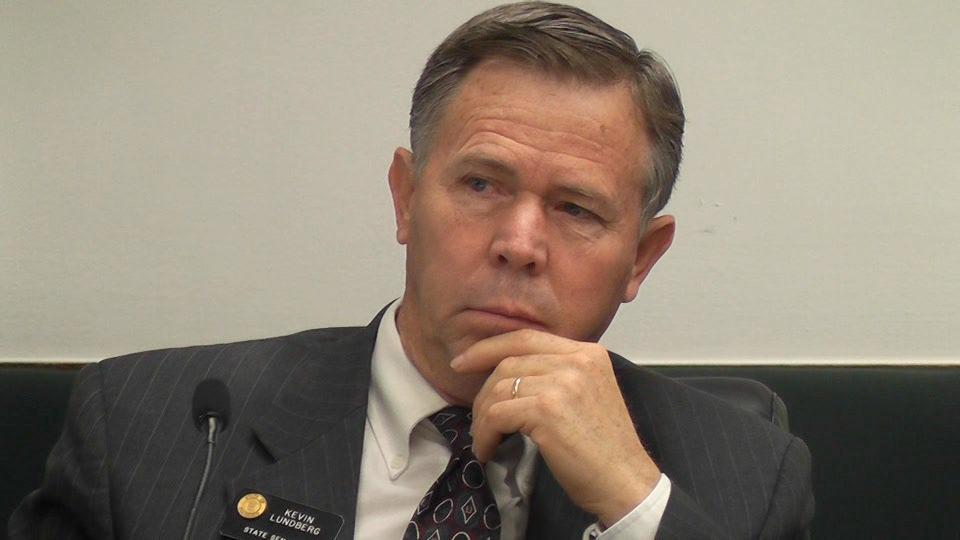 Kevin Lundberg, R-Berthoud, worries that Colorado's exchange is undermining brokers - Lundberg-at-exchange