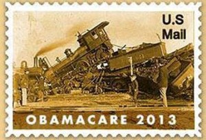 Train wreck stamp