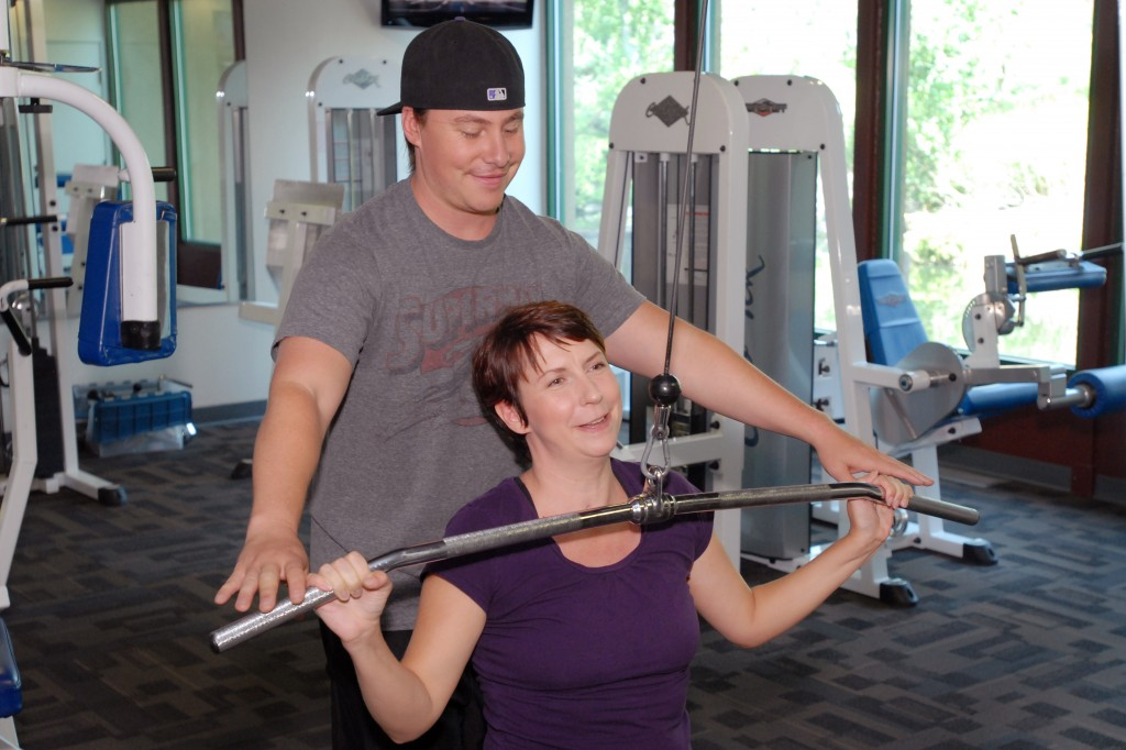 "Since graduating from her physical therapy, Denise Capelli has been working out three times a week with her personal trainer, Ben Demko. The two set a goal: that Denise would get strong enough to climb a Colorado ""fourteener,"" a peak over 14,000 feet."