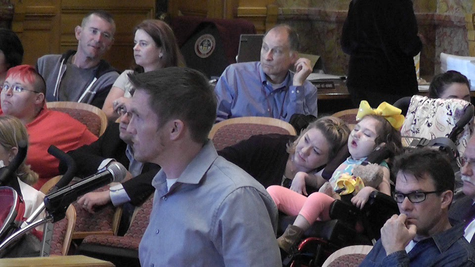 "Jason Cranford supplies parents with sick children with marijuana-infused oil. He testified at a hearing at the Capitol Tuesday and said he plans to keep supplying the families as their ""caregiver"" even if it's illegal."