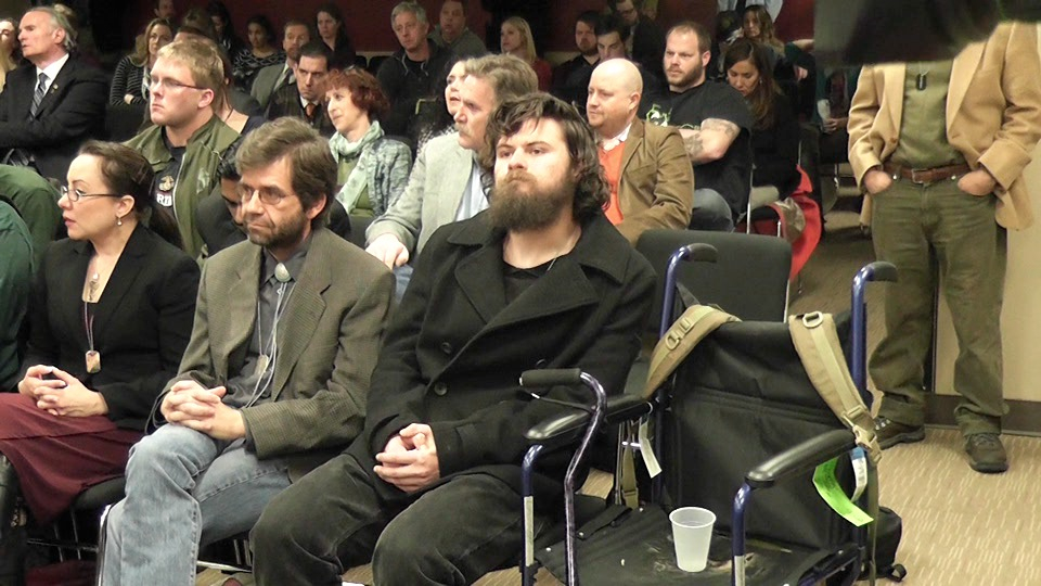 Supporters of marijuana, including many veterans, packed a Board of Health meeting on Wednesday.