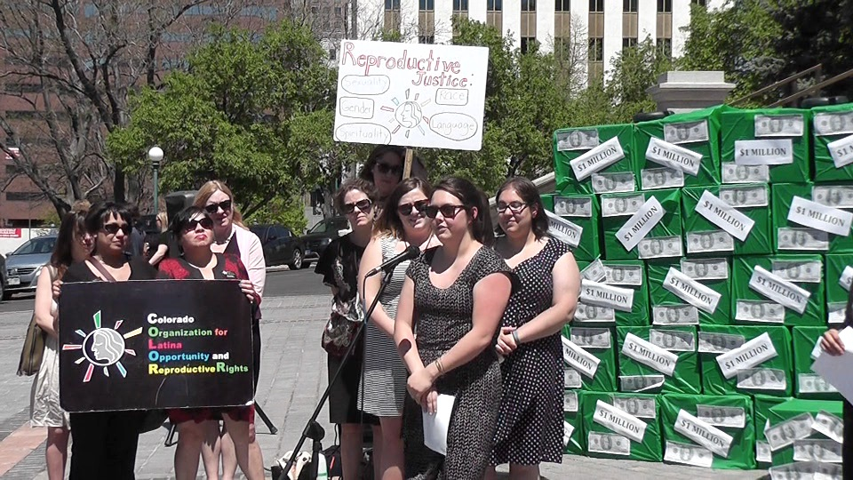 Young women and health advocates held a rally at the Capitol to urge approval of a program that provides IUDs and long-acting birth control devices to young woman. The bill died, but health officials are trying to keep the program alive.
