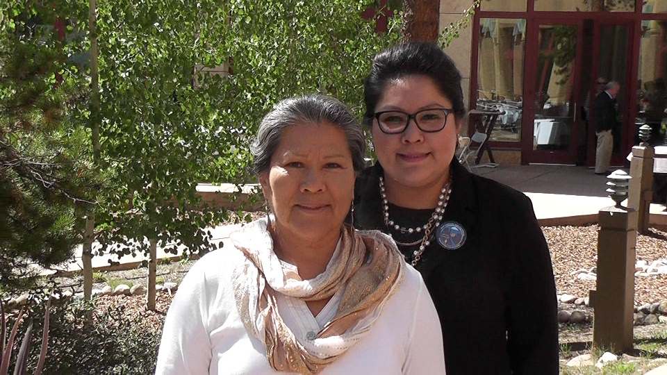 Irma Livingston, left, became the inspiration for her daughter, Denisa Livingston, right. In her 50s, Livingston learned she had diabetes. She changed her diet, lost 40 pounds and no longer needs medication. Denisa Livingston succeeded in passing junk food taxes for the Navajo Nation.
